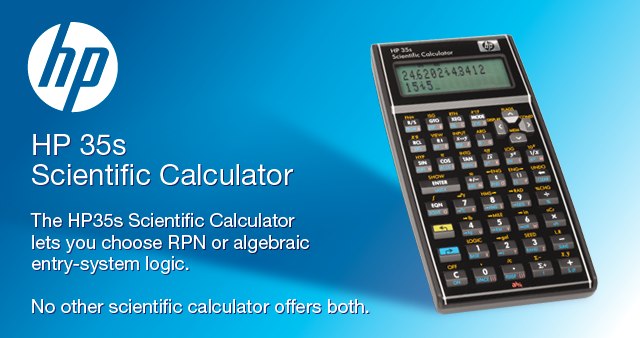 HP 35s Scientific Calcuator